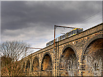SD7807 : Radcliffe Viaduct by David Dixon