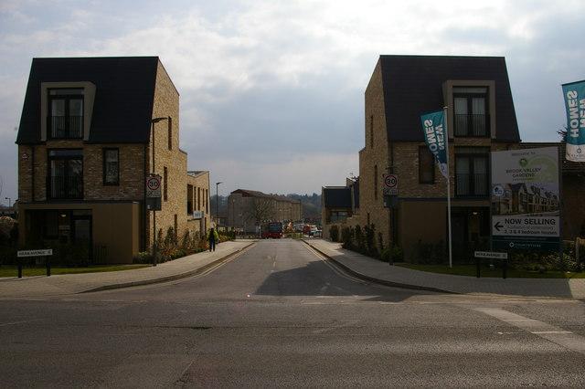 New houses on Hera Avenue, Barnet