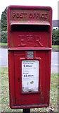TL8364 : Close up, Elizabeth II postbox on Westley Road by JThomas