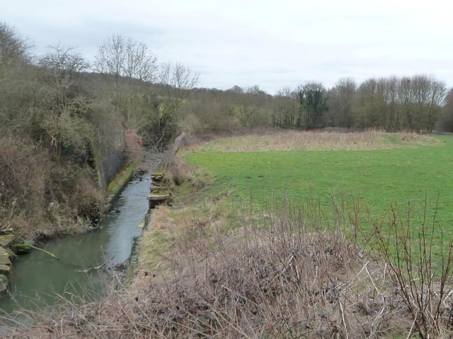 River Dove, upstream of Edmunds Road, Worsbrough