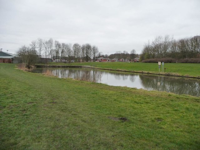 The Worsbrough terminus of the former branch canal
