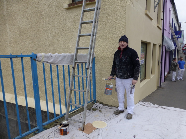 Painter at Work, Omagh