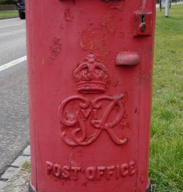 Cypher, George VI postbox on Fendon Road (A1307), Cambridge