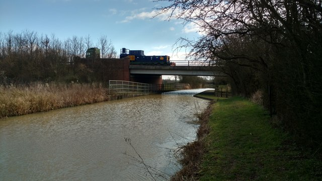 A14 crossing the Grand Union Canal