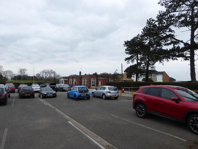 Car Park and Clubhouse, Vicars Cross Golf Club
