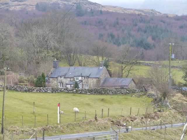 Maes Coch farmhouse