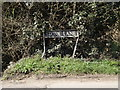 TM0783 : Stone Lane sign by Adrian Cable