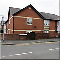 ST3289 : Satellite dishes and telecoms cabinet, Haisbro Avenue, Newport by Jaggery