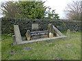 SK2899 : Green Moor village stocks by Graham Hogg