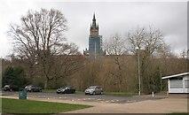 NS5666 : Glasgow University tower by Richard Sutcliffe