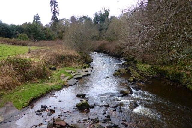 The Rotten Calder, view upstream
