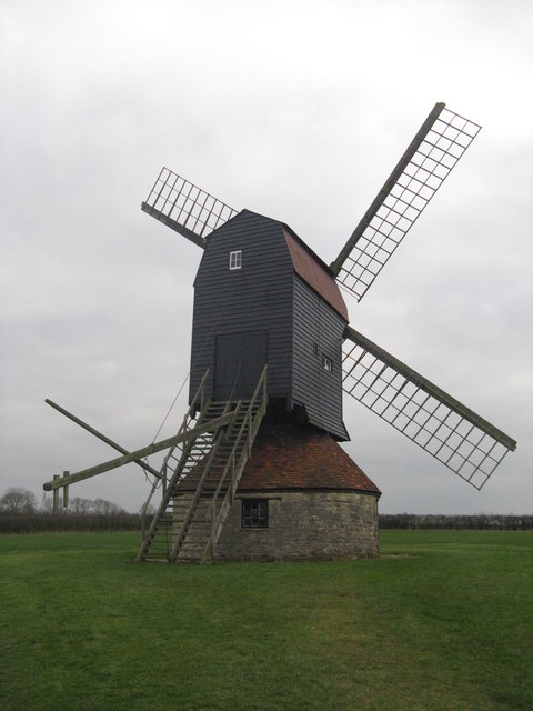 Stevington Mill from the north