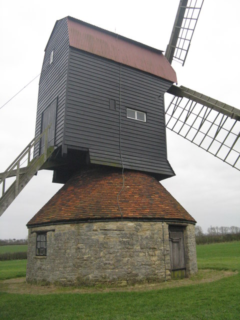 Stevington Windmill from the south