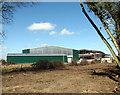 TG1500 : Hangars at the former RAF Hethel by Evelyn Simak