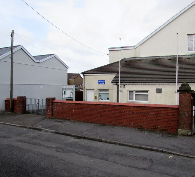 Woodlands Road police office, Loughor