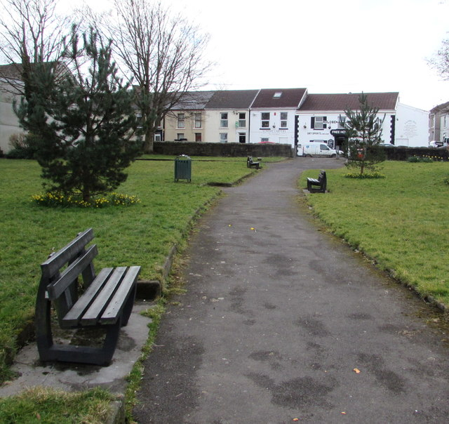 Park benches, Loughor