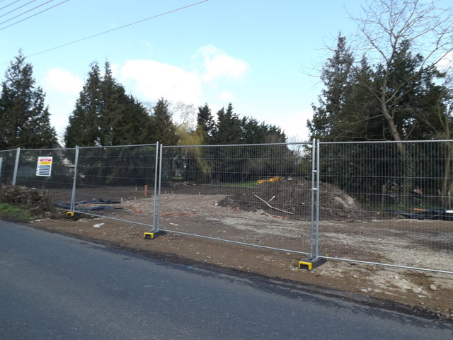 Building site off the A1120 The Street
