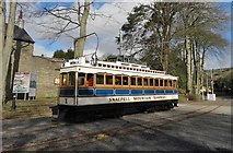 SC4384 : Snaefell Mountain Tram at Laxey Station by Neil Theasby