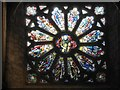 SW5129 : West window of the chapel of St Michael's Mount by David Smith
