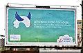 J3474 : Brussels Airlines poster, Belfast (March 2016) by Albert Bridge