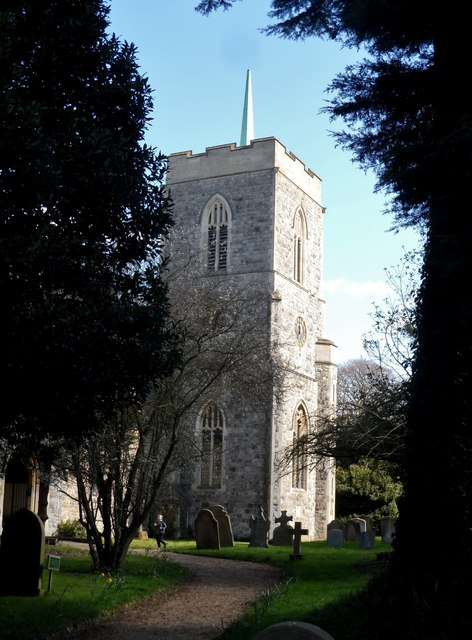 Tower of the Church of St John the Evangelist, High Cross