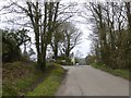 SW4534 : Road junction north of New Mill by David Smith