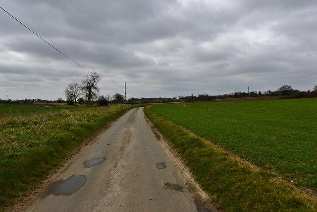Saxlingham Green: Wash Lane