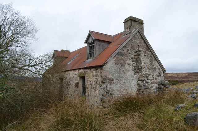Derelict Croft House at Ouvaig, East Sutherland