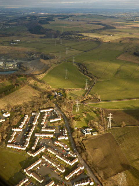 Spateston from the air