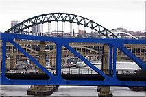 NZ2463 : Bridges over the Tyne by David Dixon