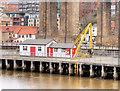 NZ2563 : River Tyne Swing Bridge, Machinery Housing by David Dixon