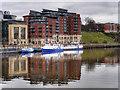 NZ2564 : River Tyne, London Wharf by David Dixon