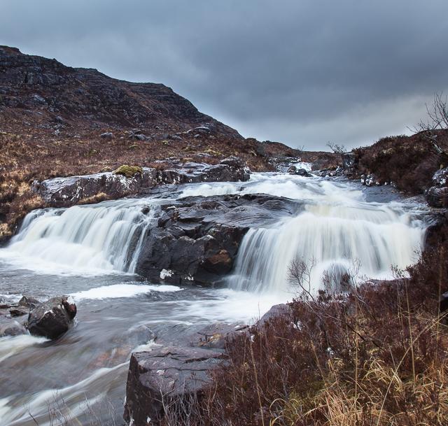 Waterfall on the Fionn-abhainn