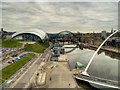 NZ2563 : Gateshead Quay, A View from the Baltic Centre by David Dixon