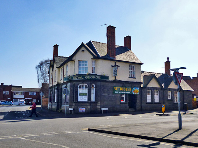 Formerly the Royal George, Loughborough