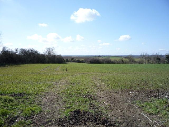 Farmland off Greenfield Road