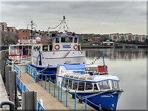 NZ2564 : Newcastle Quayside, London Wharf by David Dixon