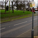 ST6976 : Kill Your Speed notice on a Pucklechurch lamppost by Jaggery
