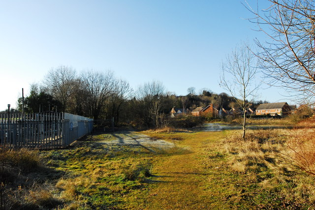 Site of Monmouth Troy station and goods yard
