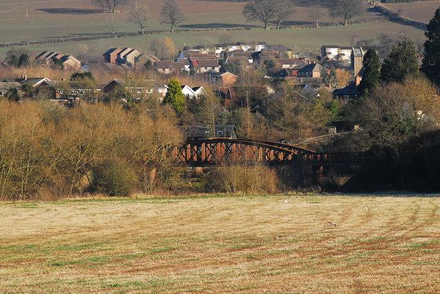 Bowstring bridge at Monmouth