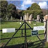 NH6750 : Kilmuir Cemetery by Dave Thompson