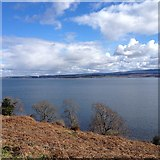 NH6750 : View from Kilmuir Cemetery by Dave Thompson