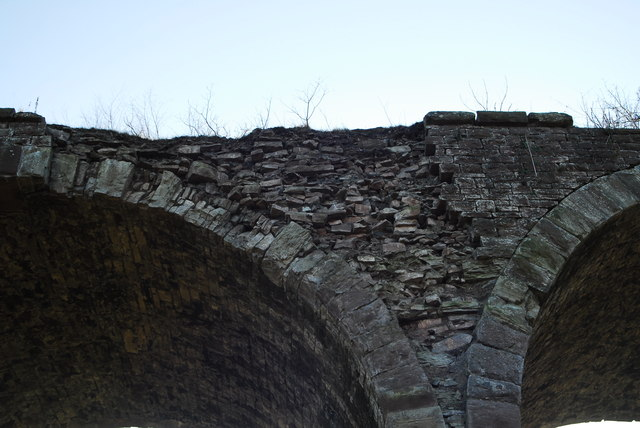 Damage to Monmouth viaduct