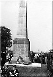 SP2382 : After the Cyclists' Service at Meriden Memorial about 1937 by Alfred Thomson