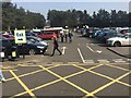 SU7955 : Car park at Fleet Services by David Lally