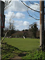 TM1354 : Coddenham FC Playing Field by Geographer