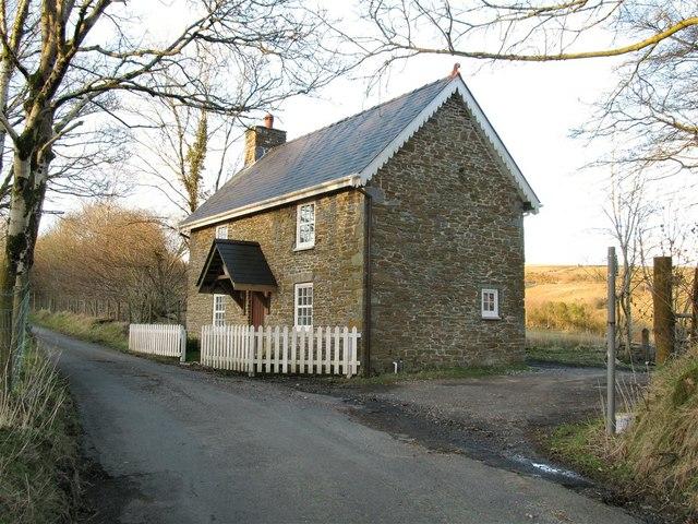 Restored house in Cwmcerdinen