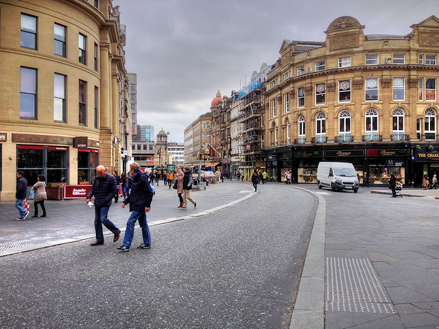 Newcastle, Monument Square