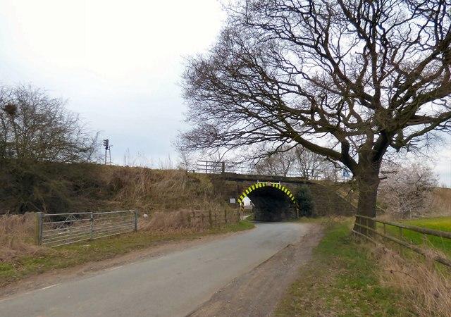 Low bridge on Delph Lane