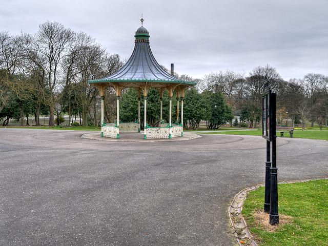 Bandstand, Leazes Park